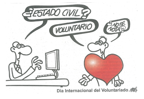 Día Internacional del Voluntariado 2012