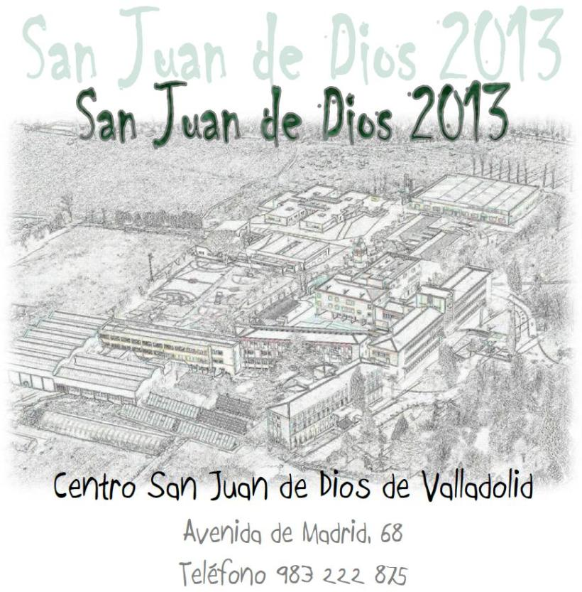 Programa San Juan de Dios 2013