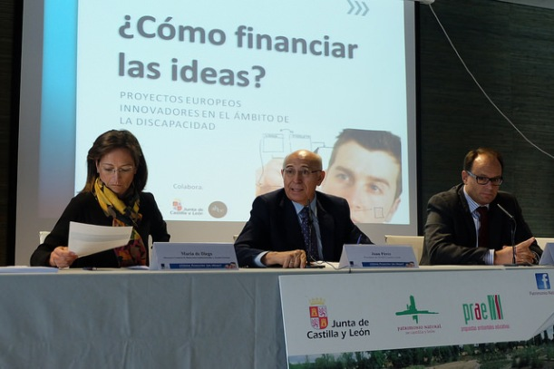 jornada como financiar las ideas feaps cyl