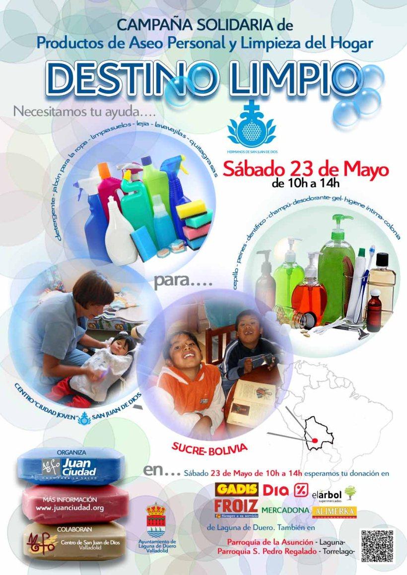 Campaña Destino Limpio 2015 Juan Ciudad ONGD
