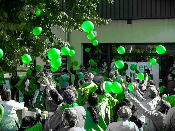 El Centro San Juan de Dios participa en los actos de Plena Inclusión