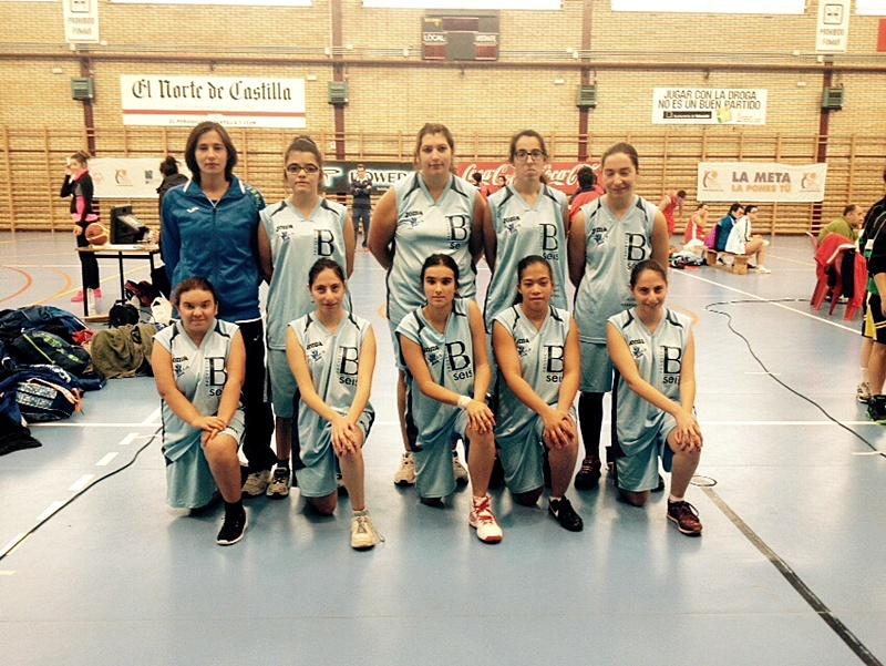 baloncesto femenino CD San Juan de Dios