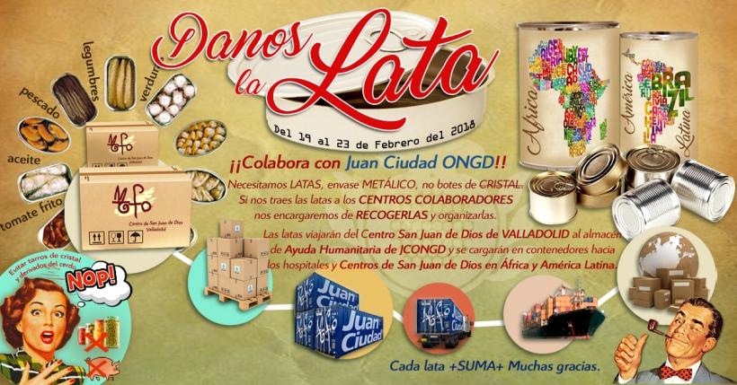 colabora con la campaña DANOS LA LATA