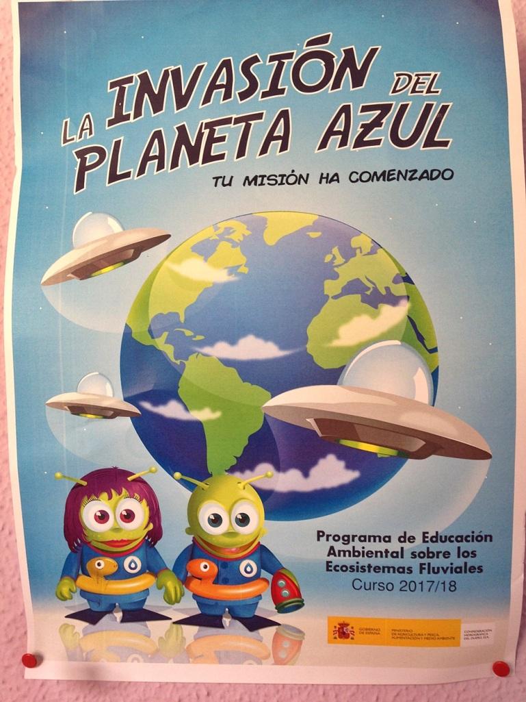 la invasión del planeta azul