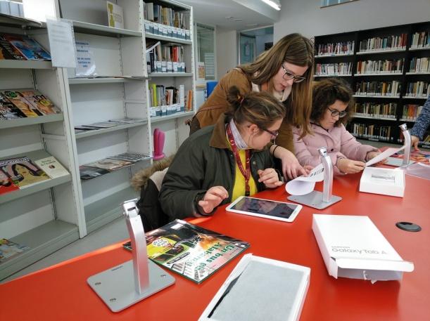 Un proyecto del centro, premiado por facilitar el acceso a la lectura