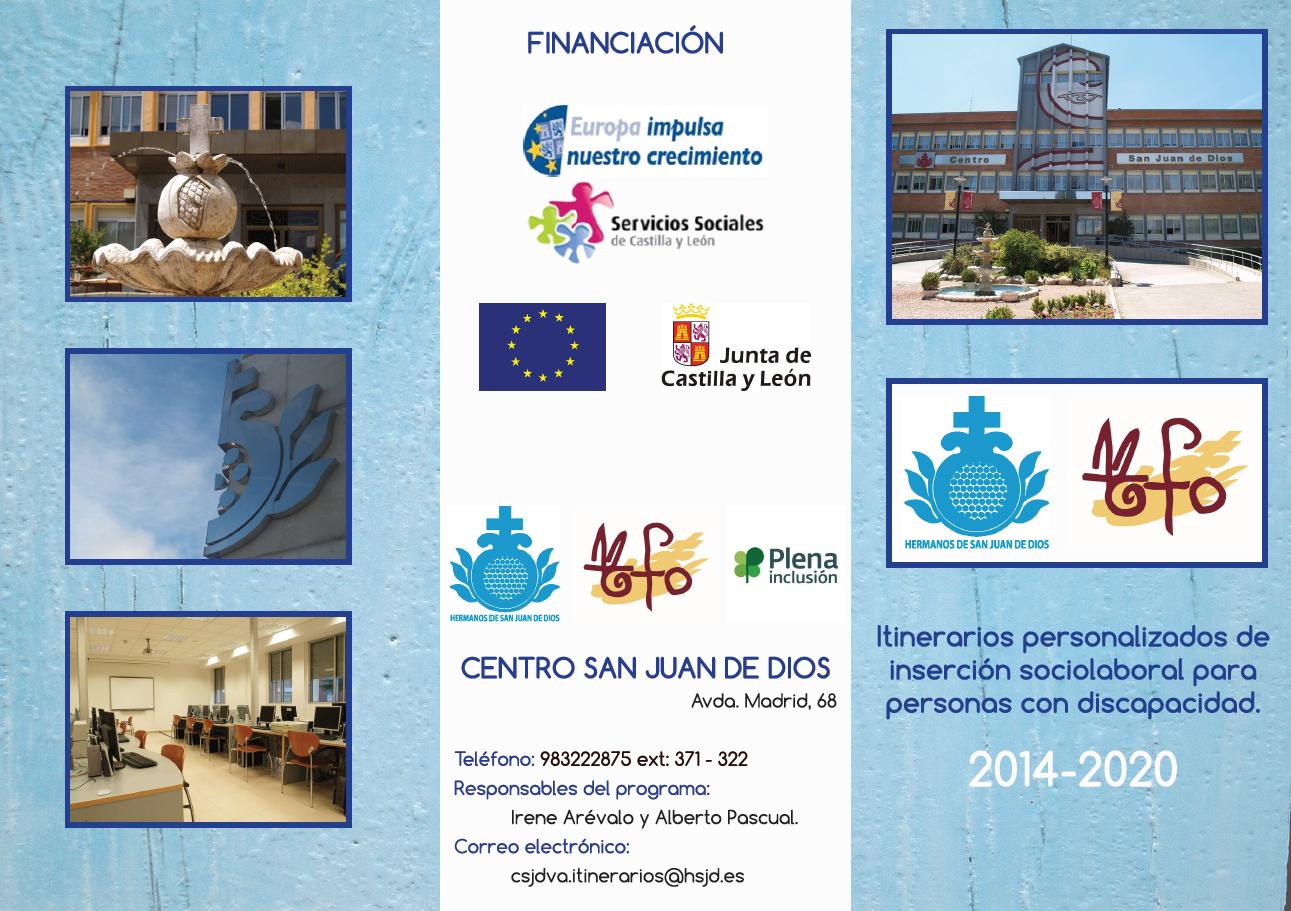 Itinerarios personalizados de empleo FSE 2014-2020